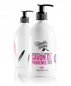 Theophile Berthon Savon de Provence shower gel. 80% olive oil. Blackberry
