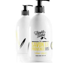 Duo Savon de Provence shower gel. 80% olive oil. Verbena citrus