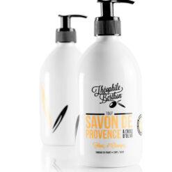 Duo de savons de Provence gel douche huile d'olive fleur d'oranger