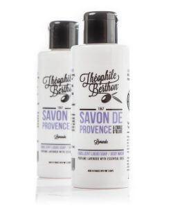 Duo de savons de Provence lavande 100ml Théophile Berthon