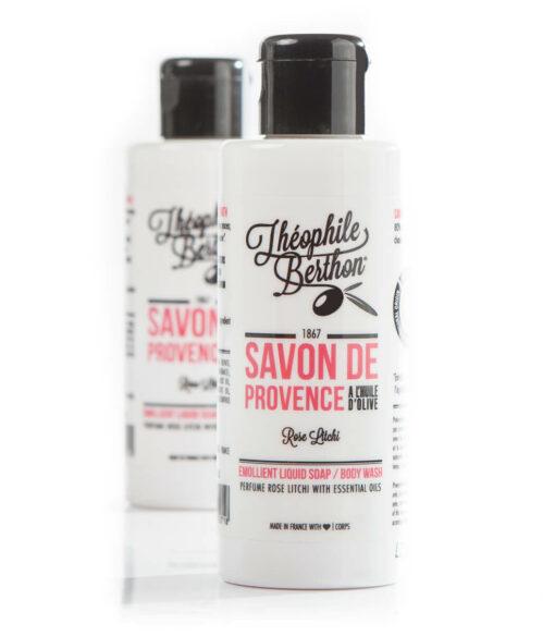theophile-berthon savon rose litchi 100ml