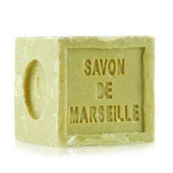 Pure olive oil Marseille bar soap. The cube. 10.56 OZ