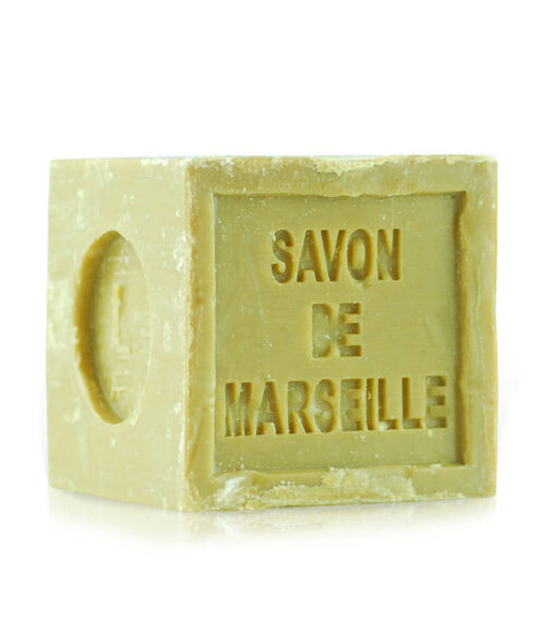 Pure olive oil Marseille bar soap. The cube. 10.56 OZ
