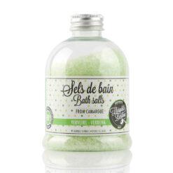 Camargue bath salts. Verbena