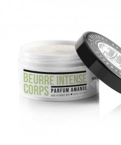 Intense body balm enriched with 6 natural active ingredients such organic Olive oil. Almond. Theophile Berthon
