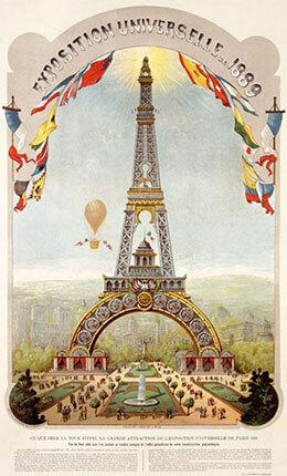 Exposition universelle Paris 1889