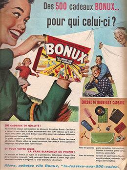 Publicité ancienne Bonux