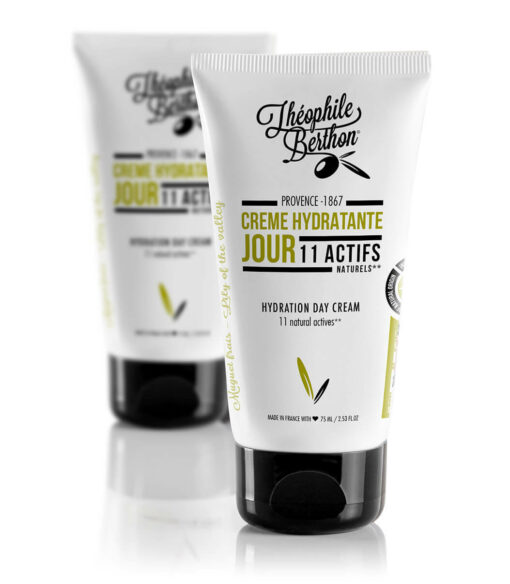 Crème hydratante naturelle anti-âge de jour Théophile Berthon