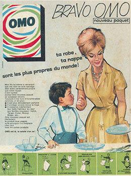 Publicité ancienne Omo