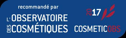 Théophile Berthon recommandé par l'Observatoire des cosmétiques 2017