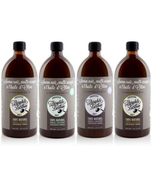 theophile berthon savon noir pack de 4