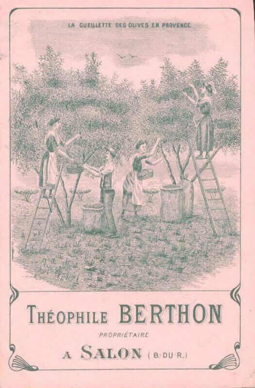 Ancienne affiche Théophile Berthon