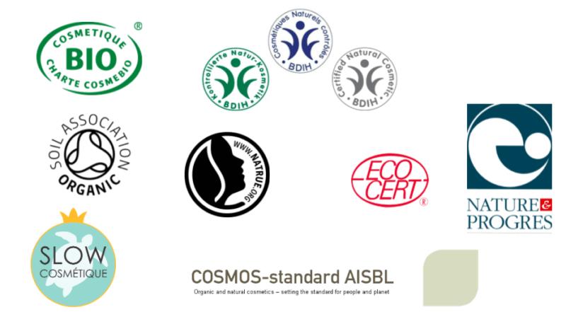 labels cosmetiques naturels et bio