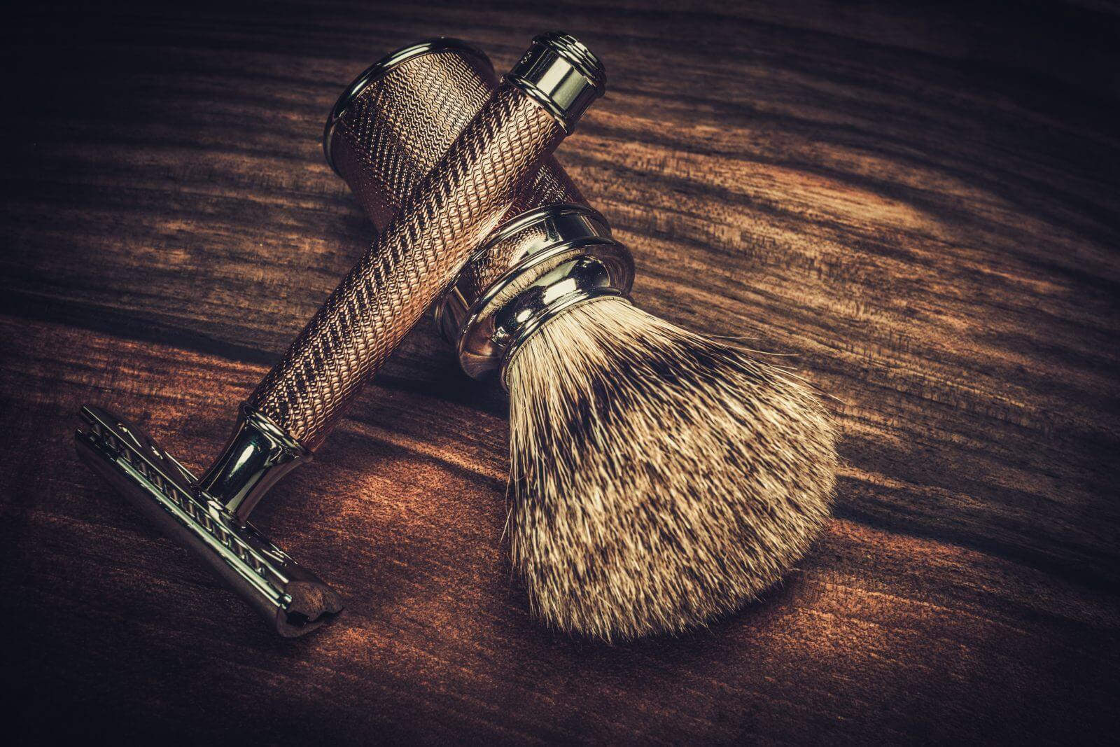 Rasage de la barbe pour homme