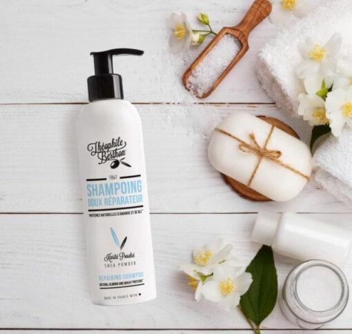 Shampoing doux réparateur sans sulfates