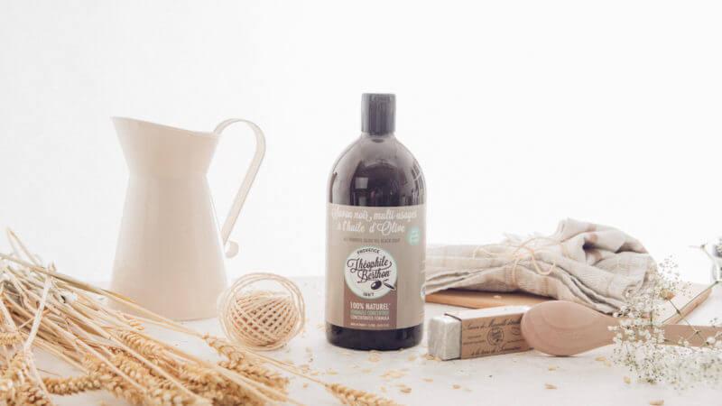 Savon noir ménager naturel à l'huile olive