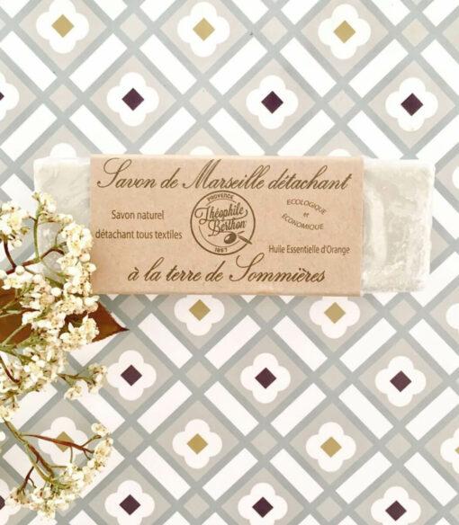 Savon de Marseille détachant à la terre de Sommières Théophile Berthon