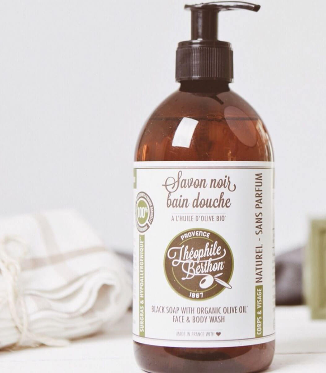 savon noir huile d'olive visage