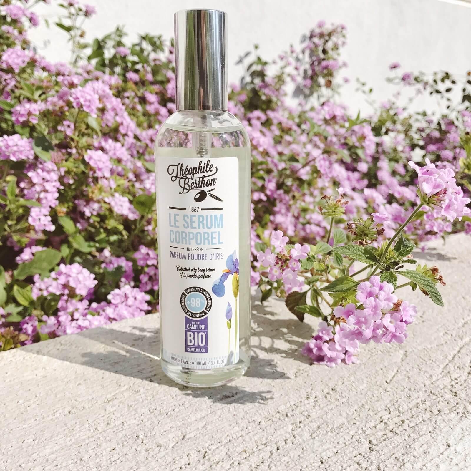 Le sérum corps parfum poudre d'iris