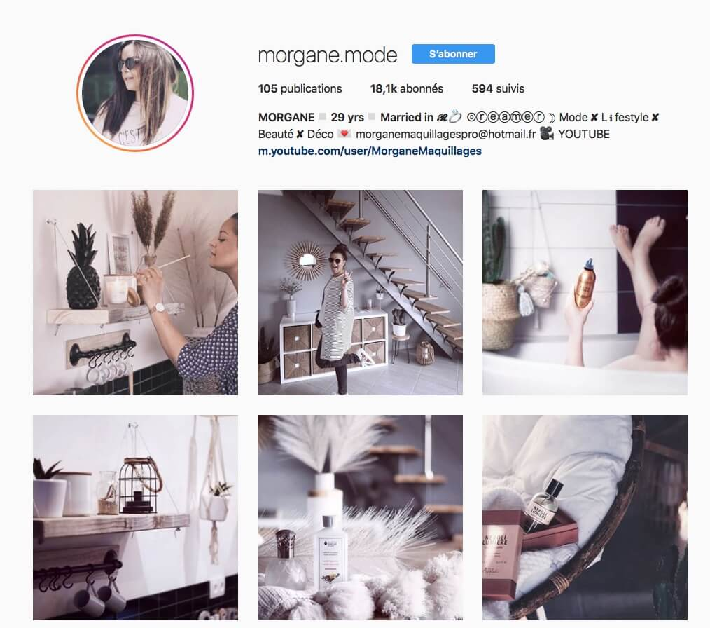 Instagram Morgane.mode