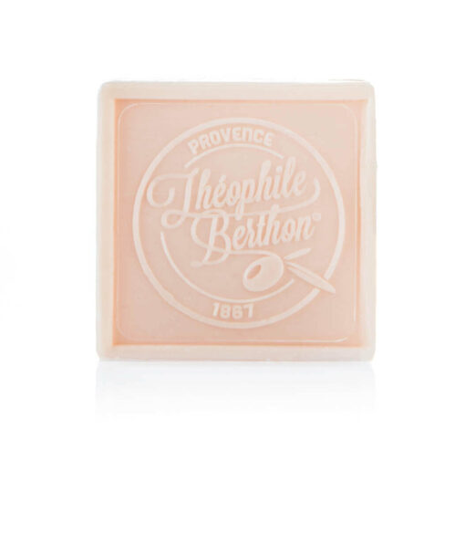 Scented Marseille soap bars. The square. 1.76 OZ. Rose.