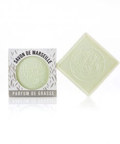 Scented Marseille soap bars. The square. Verbena.