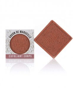 Scrub Marseille soap bars. The square.  OZ