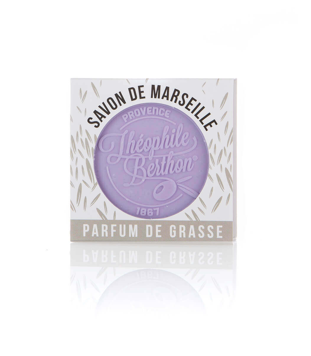 Drap De Bain Savon De Marseille pain de savon parfumé - lavande